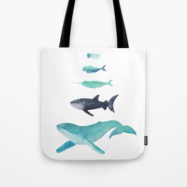 Ocean collection: Deep under the sea Tote Bag