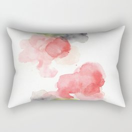 170714 Abstract Watercolour Play 15 |Modern Watercolor Art | Abstract Watercolors Rectangular Pillow