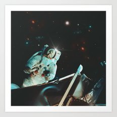 Project Apollo - 5 Art Print