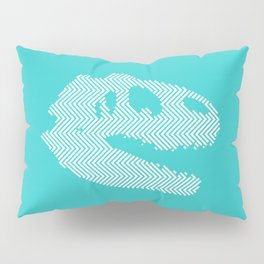Tyrannosaurus Rex Skull Pillow Sham