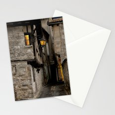 Down the Alley Stationery Cards