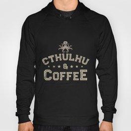 Cthulhu, Cthulhu And Coffee, Lovecraft  Hoody