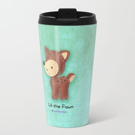 Lili the Fawn by leatherprince Travel Mug