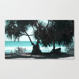 a day at the Beach 9 Canvas Print