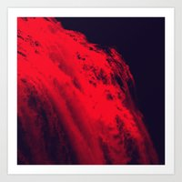 blood Art Prints featuring BLOOD by RUEI