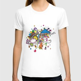 Colored Doodle T-shirt