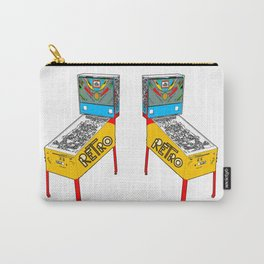 Retro Pinball Carry-All Pouch