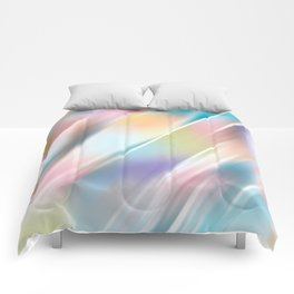 Blend - abstract art Comforters