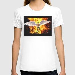Lucifer Morningstar fire T-shirt