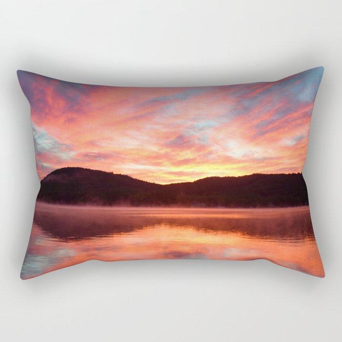 Angels in the Morning: Sunrise Rectangular Pillow