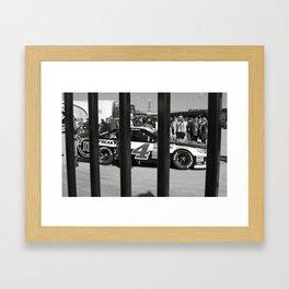 Caged Animal Framed Art Print