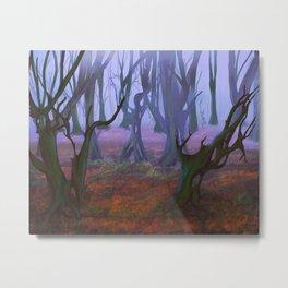 Petrified Willows Metal Print