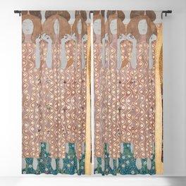 Gustav Klimt - Beethovenfries Blackout Curtain