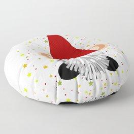 Santa - Gnome Floor Pillow