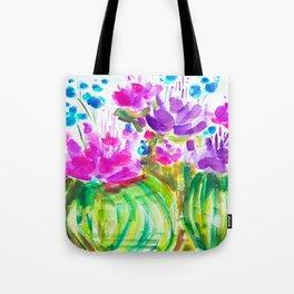 Flowerista Cactus Tote Bag