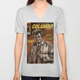 Columbo - TV Show Comic Poster Unisex V-Neck