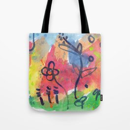 Eden Garden Tote Bag