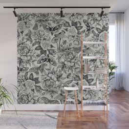 Botanical Pattern II Wall Mural