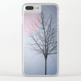 Enchanted Moon Clear iPhone Case