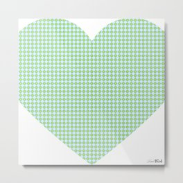 I love you this much... (blue) Metal Print