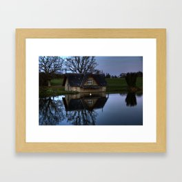 Boat House Framed Art Print
