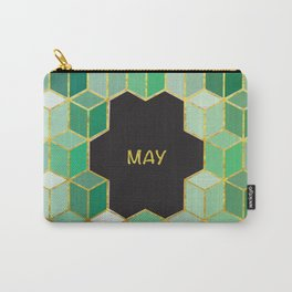 Cubes Of May Carry-All Pouch