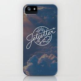 Jetsetter Sky iPhone Case