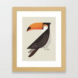 Whimsy Toucan Framed Art Print