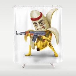 Bananilla - the banana revolution Shower Curtain