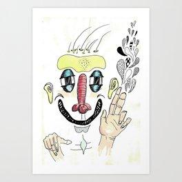 Fink Art Print
