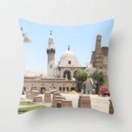 Temple of Luxor, no. 15 Throw Pillow