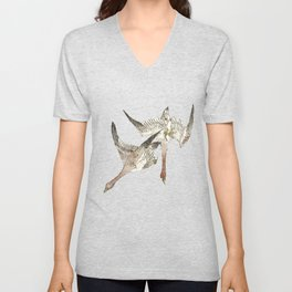 Snow Geese Unisex V-Neck