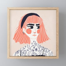 Blooming Framed Mini Art Print