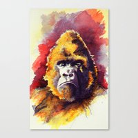 ape Canvas Prints featuring APE by Chris Brothers