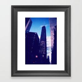 Chicago Blues Framed Art Print