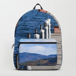 Lake George Pier Backpack