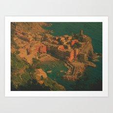 Vernazza, Italy Art Print