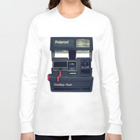 polaroid Long Sleeve T-shirts featuring Polaroid by Brieana