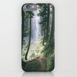 To The Falls iPhone Case