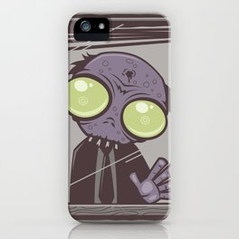 Office Zombie iPhone Case