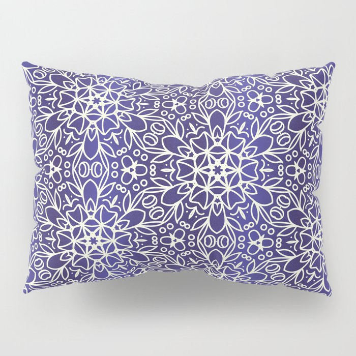 Midnight Flowers Pillow Sham