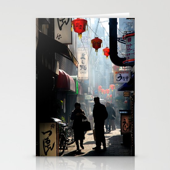 An Afternoon in Kobe, Japan Stationery Cards