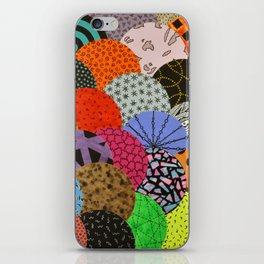bubbling over iPhone Skin