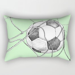 Goal in green Rectangular Pillow
