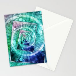 Spinning Nickels Into Infinity Stationery Cards
