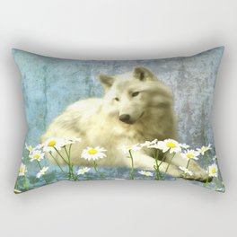 She Wolf Rectangular Pillow