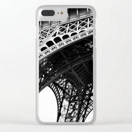 le symbole de Paris Clear iPhone Case