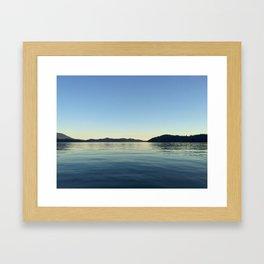 Ocean Calm V Framed Art Print