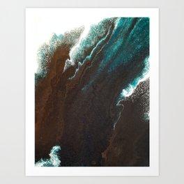 The Chasm Art Print