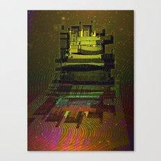 Building 08-07-16 / COSMIC MIRROR at NIGHT Canvas Print